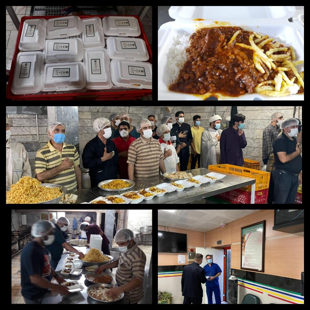 اطعام علوی 5000  پرس غذای گرم در منطقه ۱۰
