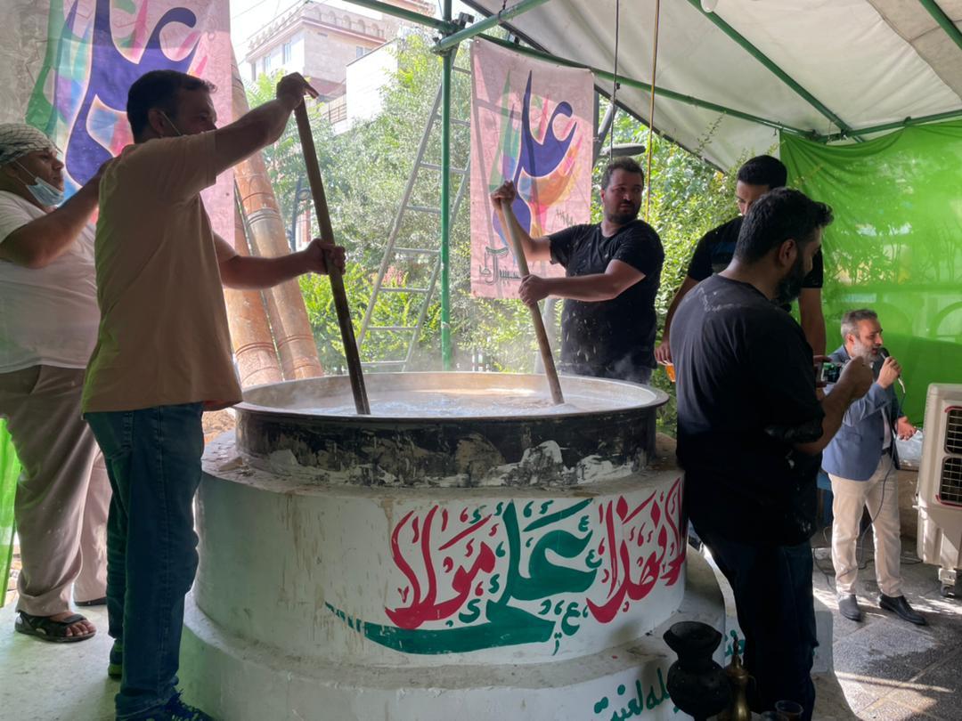 جشن عید غدیر خم در منطقه ۱۰